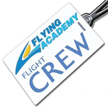 Flying Academy Crew Tag